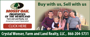Mossy Oak Properties of the Heartland - Farm and Land Realty, LLC
