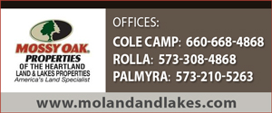 Mossy Oak Properties of the Heartland Land & Lakes Properties Cole Camp